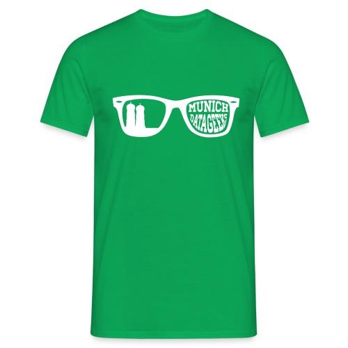 Munich Datageeks White - Männer T-Shirt
