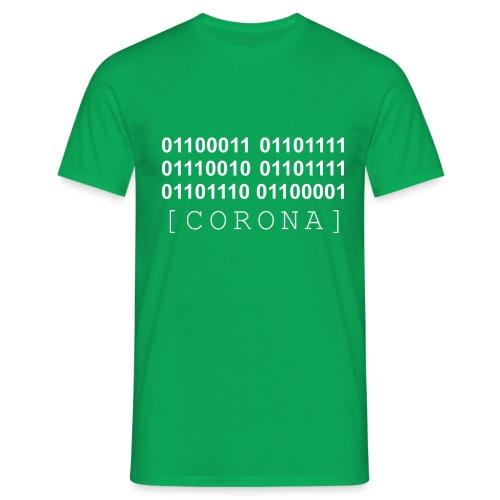 CORONA Binaer Maske BW - Männer T-Shirt