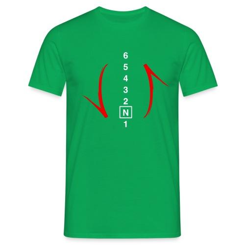 schakel rood - Mannen T-shirt