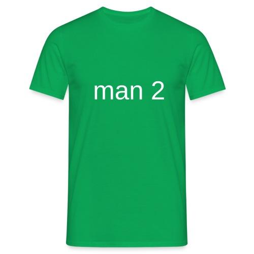 Man 2 - Mannen T-shirt