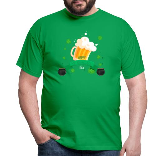 Happy St Patrick's tee shirt - T-shirt Homme
