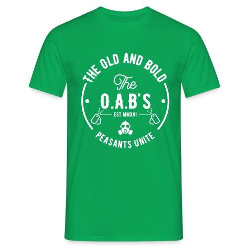 OAB unite white - Men's T-Shirt