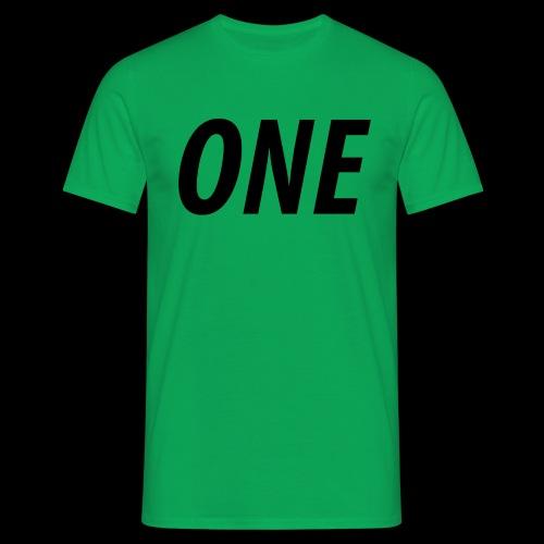 WEAREONE x LETTERS - Mannen T-shirt