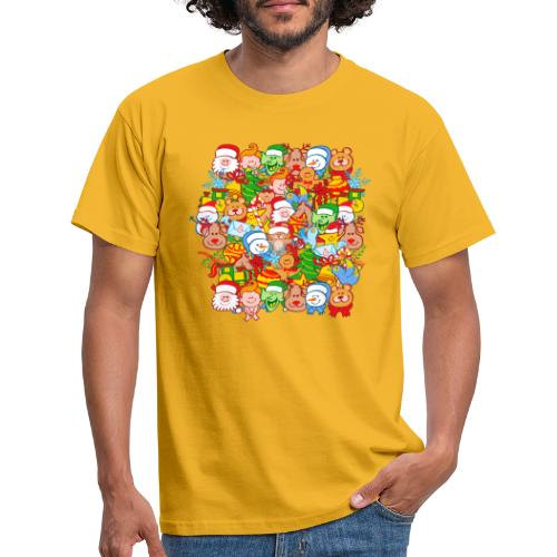 All are ready for Christmas, to celebrate in big! - Men's T-Shirt