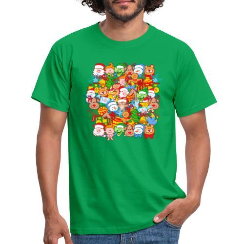 Tous sont prêts pour Noël, pour célébrer en grand! - Men's T-Shirt