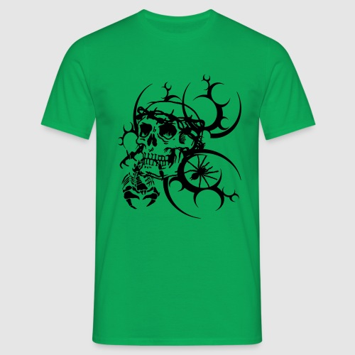 Tattoo Totenkopf - Männer T-Shirt