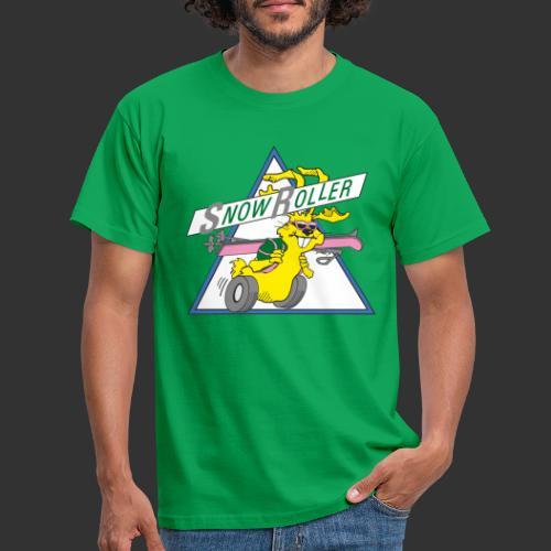 SnowRoller logo - T-shirt herr