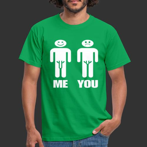 Me and You - T-shirt herr