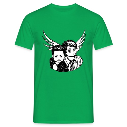 Destiel i sort/hvid - Herre-T-shirt