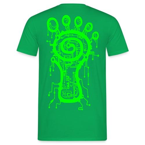 Parvati Records Matrix logo - Men's T-Shirt
