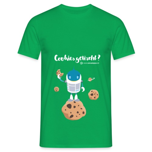 Cookies gelöscht - Männer T-Shirt