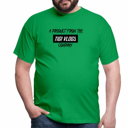 A PRODUCT FROM THE TIGIVLOGS COMPANY - T-shirt herr