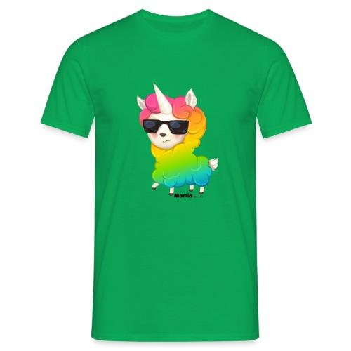 Regenboog animo - Mannen T-shirt