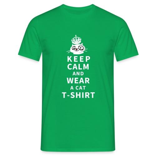 Cat T-Shirt - Männer T-Shirt