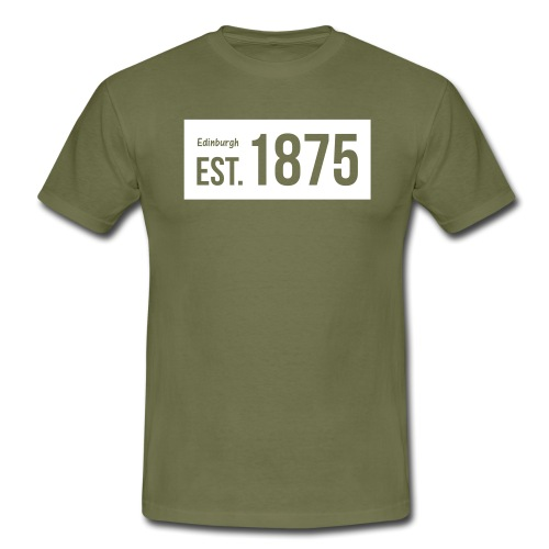 EST. 1875 Hibs - Men's T-Shirt