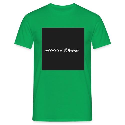 m00sicianFans4everLogo - Männer T-Shirt