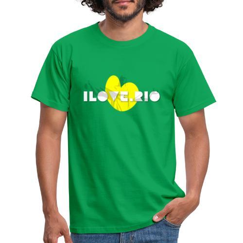 I LOVE RIO, THUMBS UP! - Men's T-Shirt