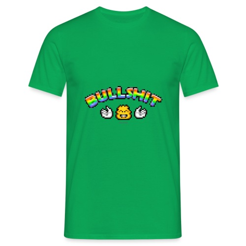 Bullshit - Männer T-Shirt
