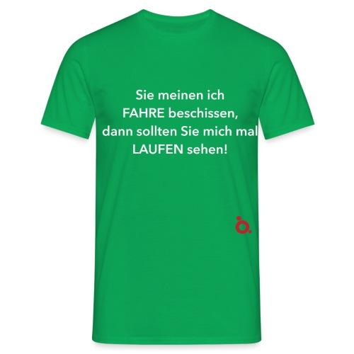 Fahren - Laufen weiss - Männer T-Shirt