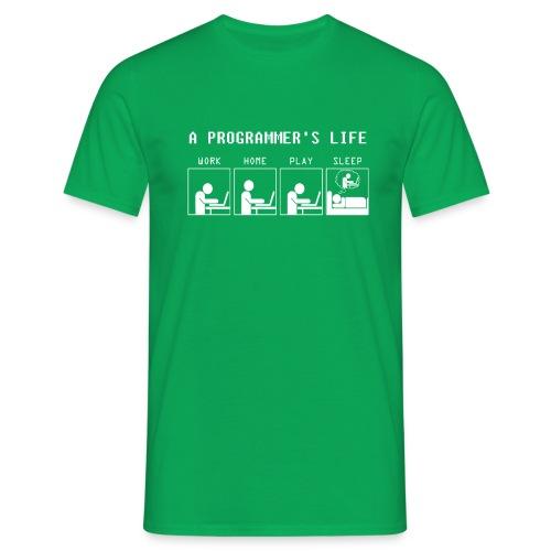 Programmer Life Work Home Play Sleep - Männer T-Shirt