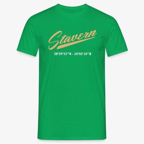 Stavern - T-skjorte for menn