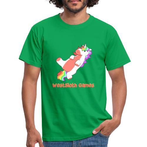 Fat Kung-Fu Unicorn - Miesten t-paita