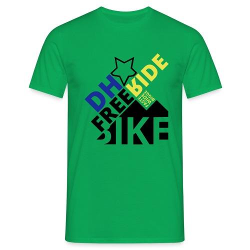 DH Freeride Bike - Männer T-Shirt