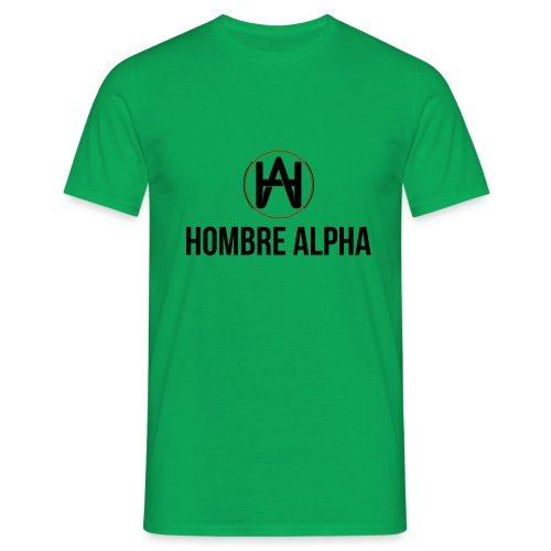 Hombre Alpha Logo - Camiseta hombre