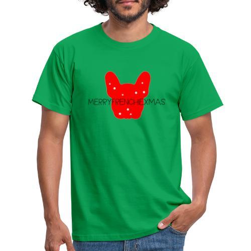 French Bulldogg Xmas - Männer T-Shirt
