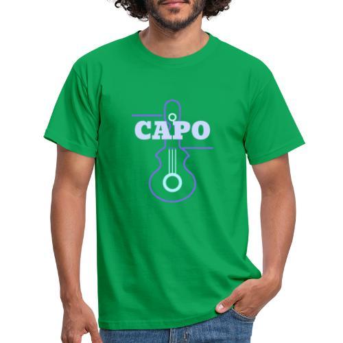 Guitar Capo - Männer T-Shirt