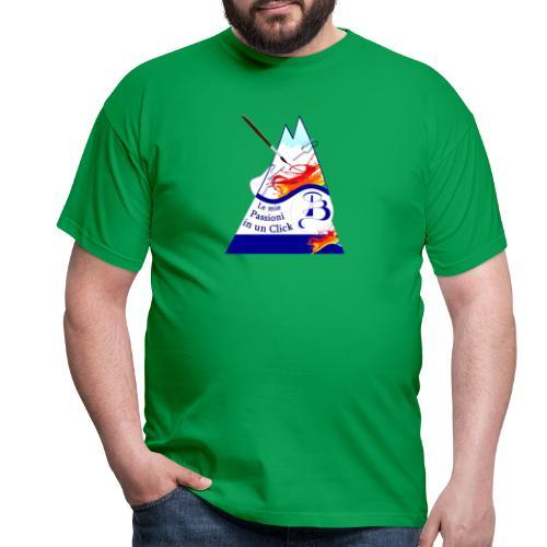 Logo colori - Maglietta da uomo