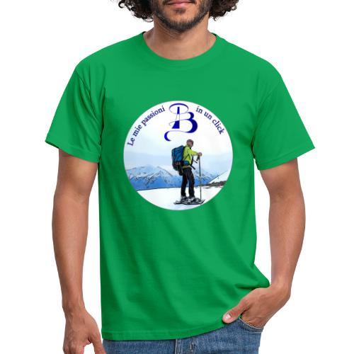 Logo cartone ciaspole - Maglietta da uomo