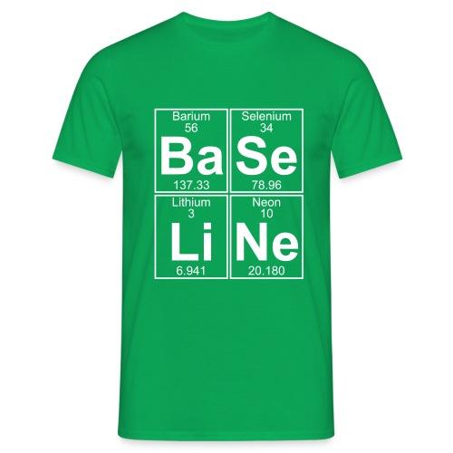 Ba-Se-Li-Ne (baseline) - Full - Men's T-Shirt