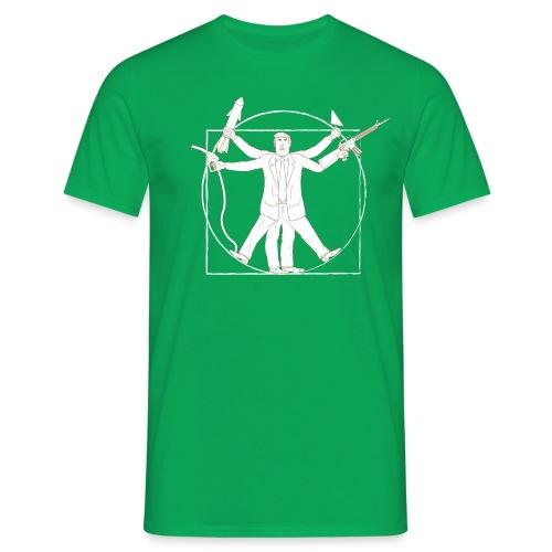 Vitruvian Trump: Anti-Trump design - Men's T-Shirt