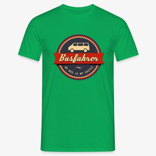 Busfahrer Retro - Männer T-Shirt