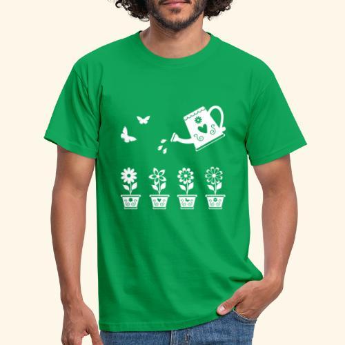 Regar las plantas - Camiseta hombre