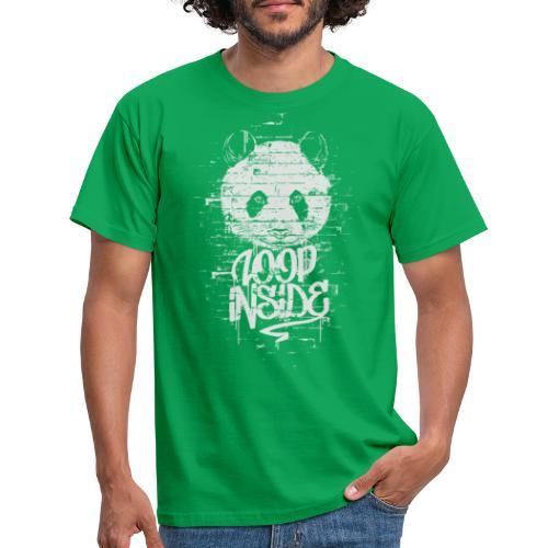 Graffiti Panda Inside - Männer T-Shirt