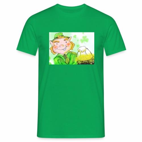 lenny the leprechaun - Men's T-Shirt