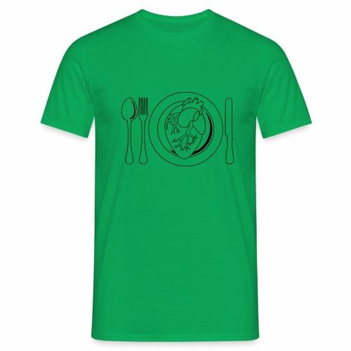 Es ist angerichtet. - Männer T-Shirt