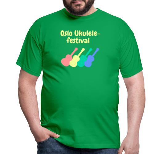Fire ukuleler - T-skjorte for menn