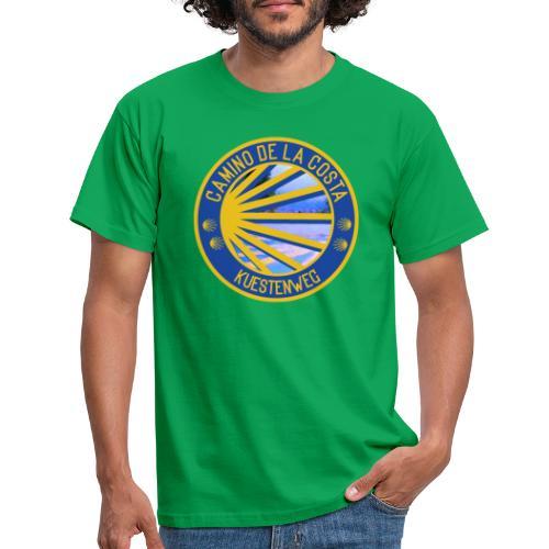 Jakobswegmotiv: Camino de la Costa/ Küstenweg - Männer T-Shirt