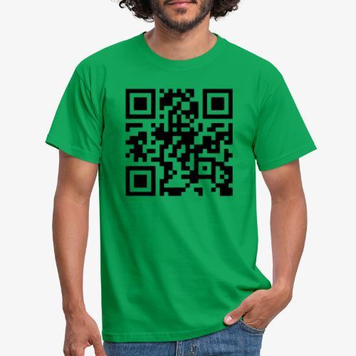 QR Code - Men's T-Shirt