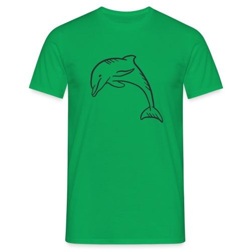 Urlaubsdelfin ! - Männer T-Shirt