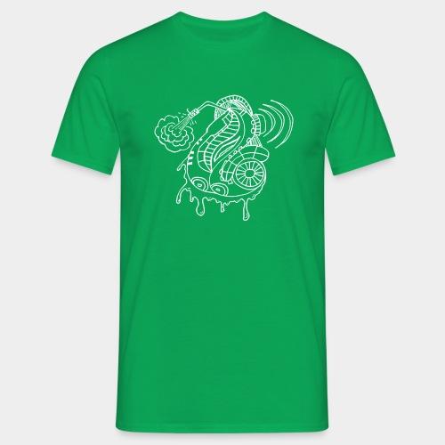 Tonarmsaxkey - Männer T-Shirt