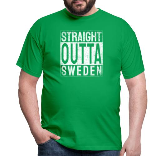 Straight Outta Sweden - T-shirt herr