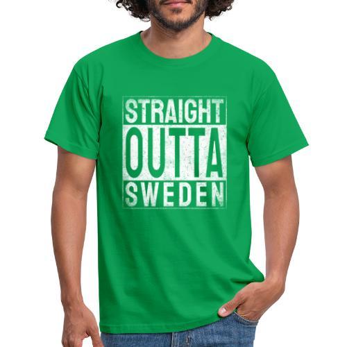 Straight Outta Sweden - T-shirt herr