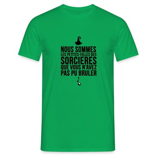 filles de sorcières - T-shirt Homme