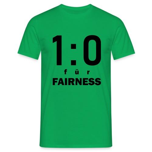 FAIRNESS in Führung - Männer T-Shirt