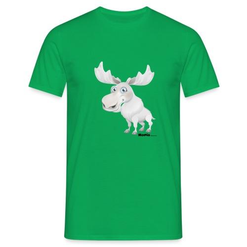 Albino elg - T-skjorte for menn