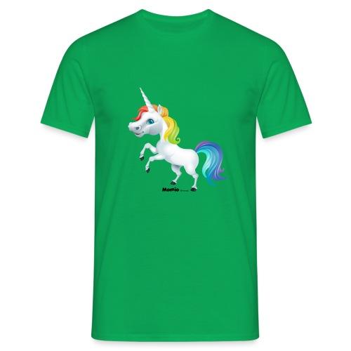 Rainbow enhjørning - Herre-T-shirt